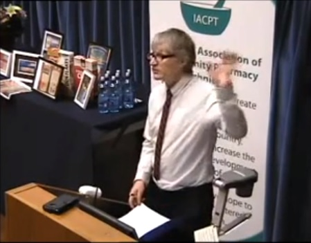 Peter Conry at IACPT Ireland 2013